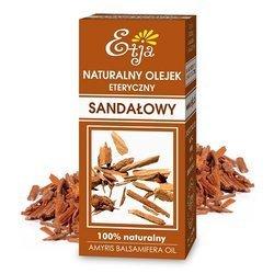 Naturalny olejek sandałowy działa uspokajająco