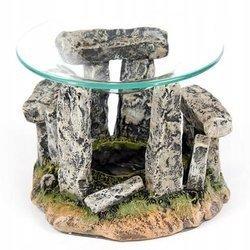 Podstawka na świeczki z miseczką na wodę - Kamienny krąg