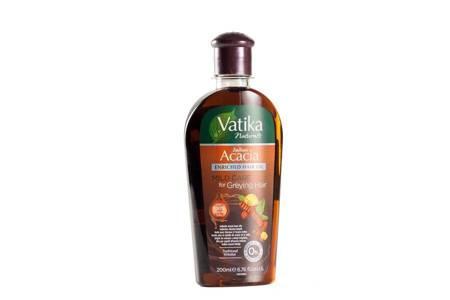 Dabur Vatika olejek do włosów delikatnych i siwych z akacją indyjską 200 ml