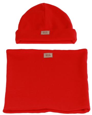 Komplet czapka i komin: SŁODKI ARBUZ