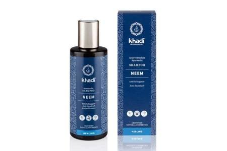 Przeciwłupieżowy szampon z neem Khadi