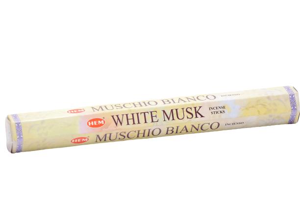 WHITE MUSK / MUSCHIO BIANCO / BIAŁE PIŻMO